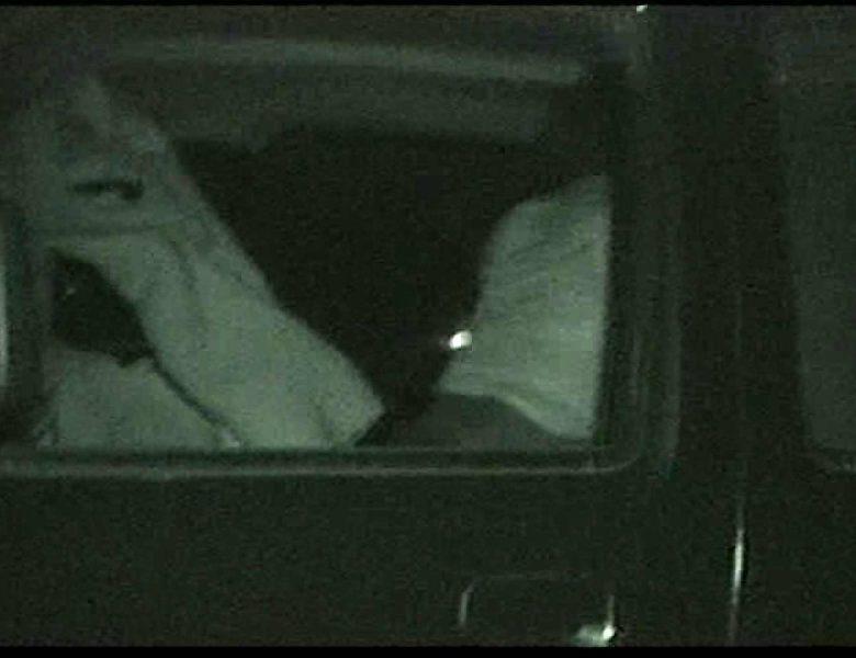 車の中はラブホテル 無修正版  Vol.15 赤外線  110画像
